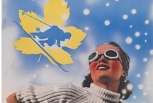 Vintage Ski Posters - Canada / You might also like my vintage ski posters from other countries... / by Poppy Gall