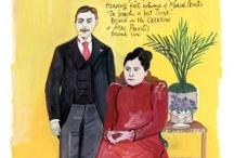 Proustian ~ Maira Kalman / Maira Kalman reads Proust in New York City.