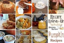 Recipe Round-Up / Features from Themed Monthly Recipe Round-Up challenges.
