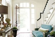 ~ Entryways & Hallways ~ / Accenting Entryways And Halls / by Deby Matta DeBruycker