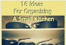 Organizing -- Kitchen / Getting that kitchen organized!