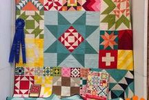 Quilty: I'm in love with these / Quilt ideas, patterns, color combos, inspirations, blocks and website links.