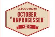 October Unprocessed Challenge   / by Lori Lanham @Get Fit Naturally