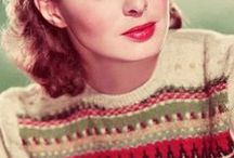 Vintage Knitting / Vintage ski & Nordic inspired sweaters plus more... / by Poppy Gall