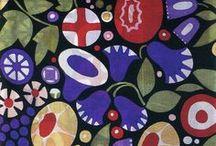 Prints - Florals / floral surface design