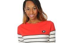 Georgia Bulldogs / Georgia Bulldogs fashionable women's apparel in missy and plus sizes! Shop online at www.UGapparel.com!