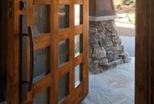 Doors / Doors and door hardware from homes we have built or remodeled and from other sources.