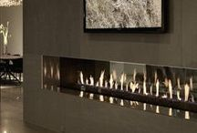 Fireplace Ideas / Fireplaces ideas from outside sources as well as from homes built or remodeled by Martin Bros. Contracting, Inc., Goshen, Indiana.