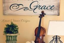 Home Decor Ideas  / by Carrie Rosie Creech