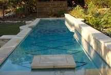 Pools & Spas / Swimming pool, splash pads & spa ideas that come from outside sources.