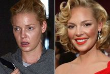 Before And After Makeup / We are all created beautifully, makeup just enhances those features / by Rekha