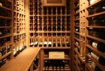 Wine Cellars / Southwest Michigan has some great wineries and as such wine cellars are a popular feature in luxury homes in Northern Indiana and Southwest Michigan. Wine cellars, wine rooms, wine storage.