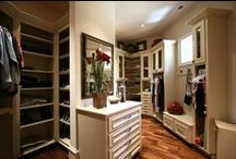 Closet Ideas / Everyone has their idea of a dream closet. You'll find closets by others and closets found in Martin Brothers built homes. Either way, Martin Brothers can build it! / by Martin Bros. Contracting