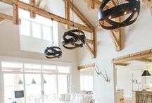 The Power of Lighting / Great lighting makes all the difference in your home. Check out some of these lighting ideas.