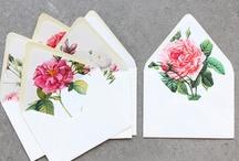Wedding Invitations and Pretty Paper