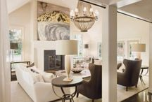 Living Rooms-Family Rooms-Great Room / The places where we spend time. Family rooms, living rooms & great rooms. Ideas from others.