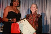 "Sunday Times Literary Award - a woman's world / Internationally acclaimed South African writer Nadine Gordimer was the first recipient of the Sunday Times Lifetime Achievement Award for Literature, presented by Sunday Times editor, Phylicia Oppelt. Oppelt said the award, was in appreciation of Gordimer's ""magnificent and epic writing"", and recognizes a lifetime of literary achievement which includes being awarded the Nobel Prize for Literature."