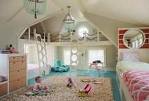 Kids Bedrooms & Playrooms / Nothing is more important than the room where your children lay their heads to rest...the bedroom. Here are some great ideas.