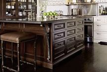 Kitchens - Islands / Kitchen Islands. For prep work, cooking, cleaning, eating, entertaining, homework, house projects, appliances, sink, trash and storage. Your kitchen is centered around the island.