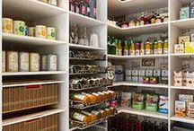 Pantry / Everyone dreams of a kitchen with the perfect pantry. What is a Pantry: noun, plural pantries. A room or closet in which food, groceries, and other provisions, or silverware, dishes, etc., are kept.