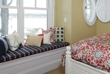 Window Seats, Nooks & Benches / Window Seats, Reading Nooks, Benches & Nooks of All Kinds.