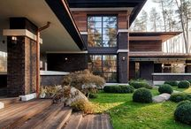 Home Exteriors we Love / Exteriors of Homes we Love. Homes built by others that we admire.