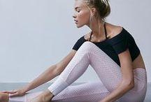 sweat & stretch / by anabela / fieldguided