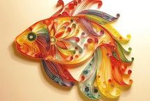 Quilling / I'm pretty bad at quilling, but I think it is really cool. / by Webster Fiber Arts