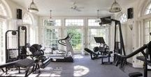 Home Gym / Get in shape in the comfort of your home...in your home gym.