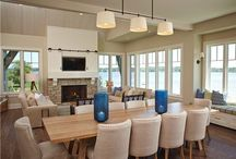 Lake Home Interiors / Live in a lake home? Planning to build a lake home? Check out  our Lake Home Interiors pinspiration board for tons of great architectural and decorating ideas. Then call Martin Bros. Contracting, Inc. we will remodel your lake home or build you a new lake home! We are Michiana's waterfront specialist! #Lake Home #Lake House