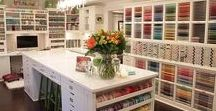 Craft & Hobby Rooms / Ideas for craft rooms, hobby rooms, sewing rooms, gift wrapping rooms, scrap booking rooms