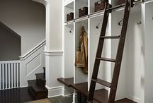 Mudroom / Mudrooms are a great place for storage and dropping off your daily gear. Mudrooms, Mudroom, Lockers, entry, coat closets, storage, boot storage, benches, cubbies