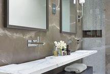 3/4 Baths / 3/4 Bath, 3-Piece Bathroom that traditionally includes lavatory or vanity, toilet and shower. Guest bath. 3/4 Bathroom.