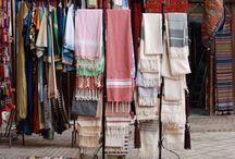 Fouta, serviettes, textiles
