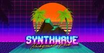 Synthwave Neon 80's Inspiration