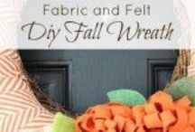 Fall Inspiration / Fall ideas,crafts, and decor to help you create an inviting atmosphere during the fall! / by Uncommon Designs