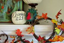 Fall Inspiration / Fall ideas,crafts, and decor to help you create an inviting atmosphere during the fall!
