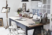 { OFD } Work Spaces  / by Olive Farm Designs