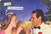 Knitting, knitting, and more knitting  / by Rebecca Meyer
