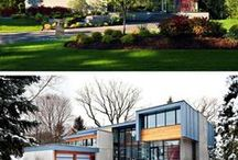 Houses + Architecure +Designs / A collection of home design ideas and home design inspiration I love.