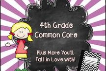 4th Grade Common Core / Welcome to the 4th Grade Common Core Pinterest page! We hope you find valuable resources to help support the new Common Core Curriculum standards. **Note to Collaborative Pinners* Please make sure to not pin the same product multiple times on multiple boards in the same day. It crowds the Pinterest feed of followers. To keep our followers please try to pin a mixture of free products, blog posts, and paid products. Remember this is a collaborative board. :) Thanks so much.... ~Pam  / by Pam Rountree