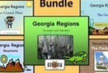 Georgia Science & Social Studies Resources / Loads of resources to teach Georgia Science and Social Studies. / by Pam Rountree