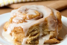 Cake Rolls, Cinnamon Rolls, Egg Rolls, and Dinner Rolls / by Kimberley Henbury-Newton