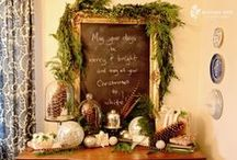 Christmas Decor / Holiday decorating / by Cindy B.