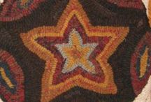 Wool/Rug hooking/Applique / by Carolyn Rosier