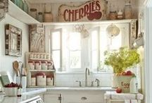 Kitchens with character / charming, funky, fun, eclectic -- kitchens that are welcoming and anything but cookie cutter / by jeannieology