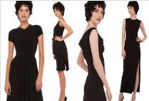 Norma Kamali: The Little Black Dress / Classic, timeless little black dresses / by Norma Kamali