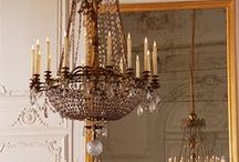 Chandeliers, Lamps, Lighting / by Mary Ellis
