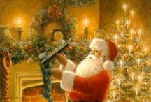 Christmas Illustrations / Christmas Art / by Cindy B.