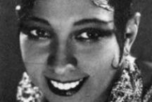 RIP Josephine Baker / Josephine Baker (June 3, 1906 – April 12, 1975) was an American-born French dancer, singer, and actress. Born Freda Josephine McDonald in St. Louis, Missouri, Josephine later became a citizen of France in 1937 and Active in the French Resistance during WWII. She was fluent in English and French. / by Kamalani Hurley